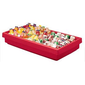Cambro BUF72158 - Buffet Bar 24 x 67, Hot Red