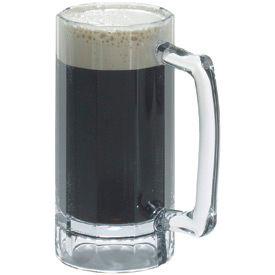 Cambro BWB16CW135 - Barware Beer Mug 16 Oz.,  Clear - Pkg Qty 12
