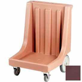 Cambro CD2020HB131 - Camdolly  with Handle for Camracks  Dark Brown
