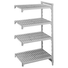 Camshelving® Add-On Unit - 4 Vented Shelves 21x60x64