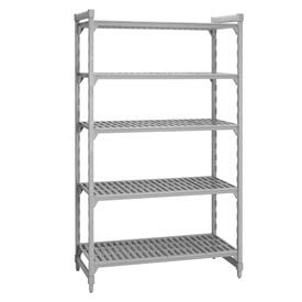 Camshelving® Stationary Starter - 5 Vented Shelves 18x60x72