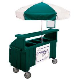 """Cambro CVC72519 - Camcruiser Vending Cart, 1 full size pan, 6"""" deep, Green"""