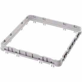 "Cambro E3151 - Open Extender, Full Size, 19-5/8 x 19-5/8 x 2, Adds 1-5/8"" To Rack Height, Soft Gray - Pkg Qty 12"