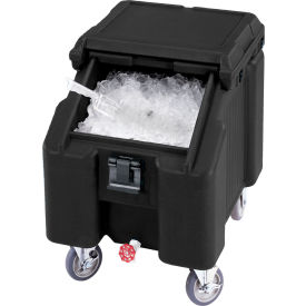Cambro ICS100L110 - Ice Caddies, Black, 100 Lbs. Cap.