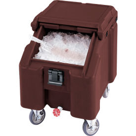 Cambro ICS100L131 - Ice Caddies, Dark Brown, 100 Lbs. Cap.