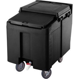 Cambro ICS125L110 - Ice Caddy, Black, 125 Lbs. Capacity