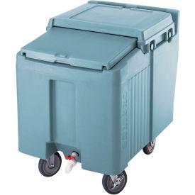 Cambro ICS125L401 - Ice Caddy, Slate Blue, 125 Lbs. Cap., 2 Swivel, 2 locking