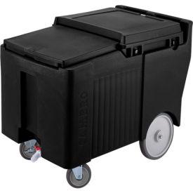 Cambro ICS125LB110 - Ice Caddy, Black, 125 Lbs. Cap., 4 Swivel, 1 with Brake