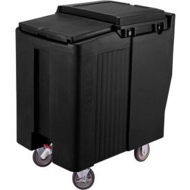 Cambro ICS125T110 - Ice Caddy, Black, 125 Lbs. Cap., Tall