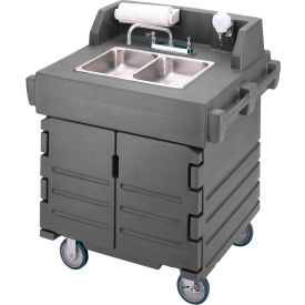 Cambro KSC402191 - Camkiosk Hand Sink Cart, Granite Gray