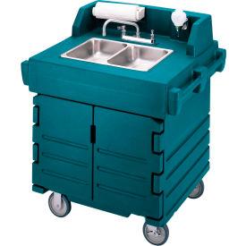 Cambro KSC402192 Camkiosk Hand Sink Cart, Granite Green by