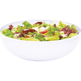 """Cambro RSB12CW135 - Bowl Ribbed Camwear Round 12"""", Clear - Pkg Qty 12"""