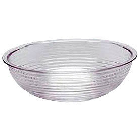 """Cambro RSB8CW135 - Bowl Ribbed Camwear Round 8"""", Clear - Pkg Qty 12"""