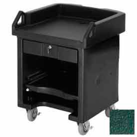 Cambro VCSHD519 Versa Cash Register Cart Lockable Drawer, Heavy Duty Casters, Kentucky Green by
