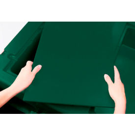 """Cambro WCR1220519 - Vending Cart Cover for Food well, Full Size (13"""" x 21""""), Kentucky Green"""