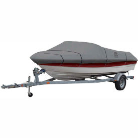 """Classic Accessories® Lunex RS-1 Boat Cover 17' - 19', 102"""" Beam Gray - 20-143-111001-00"""