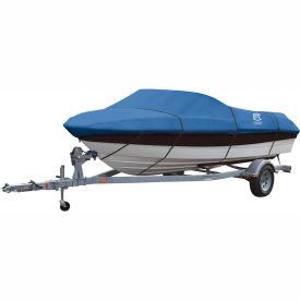 """Classic Accessories® Stellex Boat Cover 16' - 18.5', 98"""" Beam Blue - 20-147-100501-00"""