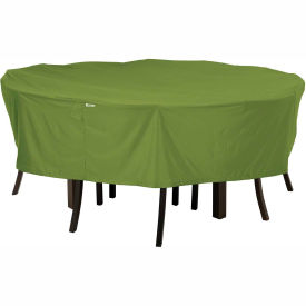Classic Accessories Sodo Patio Table and Chair Cover Round, Large, Herb 55-346-011901-EC by