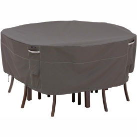 Classic Accessories Patio Table & Chair Set Cover Ravenna Series, Round, Large... by