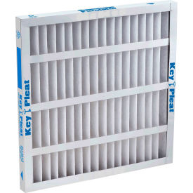 "Purolator® 5251304816 Self-Supported Pleated MERV 8 Filter 20""W x 20""H x 1""D - Pkg Qty 12"