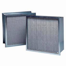 "Purolator® 5360602527 95 Series Single Header MERV 14 Serva-Cell Filter 20""W x 25""H x 12""D"