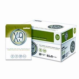 Copy Paper – Boise X-9 CASOX9001 – White - 8-1/2 x 11 - 20 lb. - 5000 Sheets/Carton