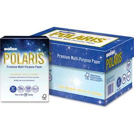 "Boise POLARIS 3-Hole Punched Copy Paper POL8511P, 8-1/2"" x 11"", White,5,000 Sheets/Ctn by"