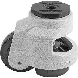 Swivel Stem Leveling Manual Caster 2200 Lbs., 75mm Dia. Nylon Wheel, M16-2.0P Stem Mounting Hole