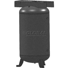 Campbell Hausfeld Air Receiver Surge Tank AR8034, Vertical, 80 Gal., Top Plate by