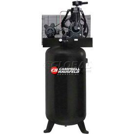 Campbell Hausfeld Two-Stage Electric Air Compressor CE6001, 208V-230V/460V, 5HP, 3PH, 80 Gal