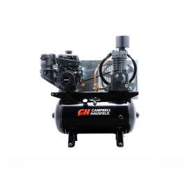 Campbell Hausfeld Two-Stage Gas Powered Air Compressor CE7002, Kohler Command, 12.5HP, 30 Gal
