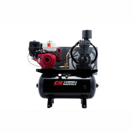 Campbell Hausfeld Two-Stage Gas Powered Air Compressor CE7003, Honda GX390, 13HP, 30 Gal