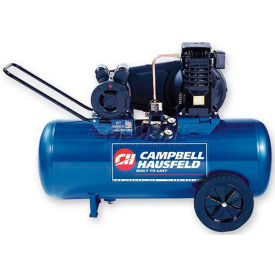 Campbell Hausfeld Portable Air Compressor VT6233, 120V, 2HP, 26 Gal