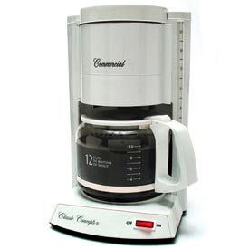 12-Cup Classic Coffee Maker, White, CC120 by