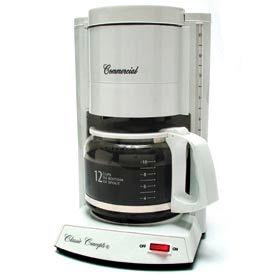 12-Cup Classic Coffee Maker, White, CC120