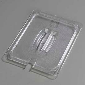 "Carlisle 10231U07 - Topnotch® Universal Handled Notched Lid 12-3/4"" x 10-3/8"", Clear - Pkg Qty 6"