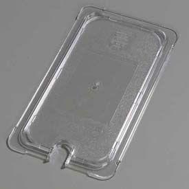 "Carlisle 10277U07 - Topnotch® Universal Flat Notched Lid 12-3/4"" x 7"", Clear - Pkg Qty 6"