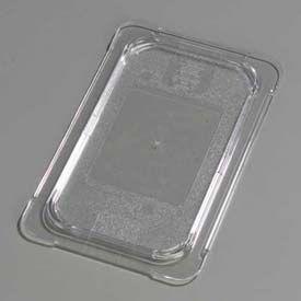 """Carlisle 10296U07 - Topnotch® Universal Flat Lid 10-1/4"""" x 6-3/8"""", Clear - Pkg Qty 6"""