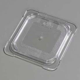 """Carlisle 10316U07 - Topnotch® Universal Flat Lid 6-3/4"""" x 6-3/8"""", Clear - Pkg Qty 6"""