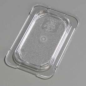 """Carlisle 10336U07 - Topnotch® Universal Flat Lid 6-3/4"""" x 4-1/4"""", Clear - Pkg Qty 6"""