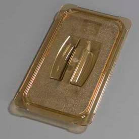"Carlisle 10470U13 - Topnotch® Universal Handled Lid 12-3/4"" x 7"", Amber - Pkg Qty 6"
