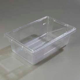 "Carlisle 1061107 - Storplus™ Storage Container, 3.5 Gallon 18"" x 12"" x 6"", Clear - Pkg Qty 6"