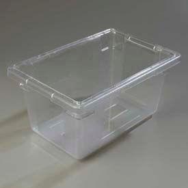 "Carlisle 1061207 - Storplus™ 5 Gallon Box 18"", 12"", 9"", Clear - Pkg Qty 6"