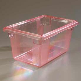 "Carlisle 10612C05 - Storplus™ 5 Gallon Box 18"", 12"", 9"", Red - Pkg Qty 6"