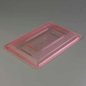 "Carlisle 10617C05 - Storplus™ Lid 12"" x 18"", Red - Pkg Qty 6"