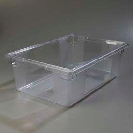 "Carlisle 1062207 - Storplus™ 12.5 Gallon Box 26"" x 18"" x 9"", Clear - Pkg Qty 4"