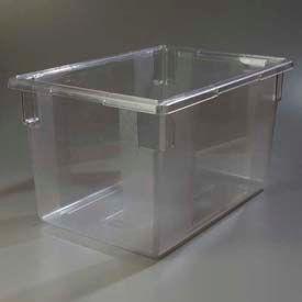 "Carlisle 1062407 - Storplus™ 21.5 Gallon Box 26"", 18"", 15"", Clear - Pkg Qty 3"