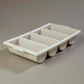 """Carlisle 107123 - Save-All™ Silverware Tray 21-1/4"""", 11-1/2"""", 3-3/4"""", Grey - Pkg Qty 6"""