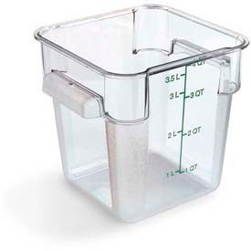 Carlisle 1072107 - Storplus™ Container 4 Qt., Clear - Pkg Qty 6