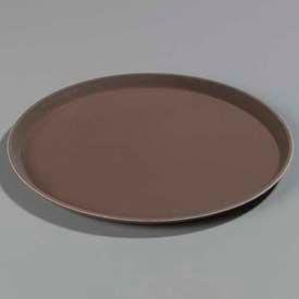"Carlisle 1100GL076 - Griplite® Round Tray 11-1/4"" x 3/4"", Tan - Pkg Qty 12"